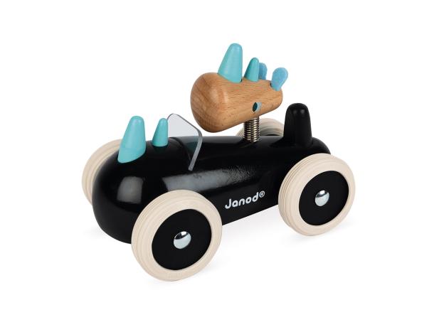 Каталка-машинка для малышей Janod «Рони», фото , изображение 3