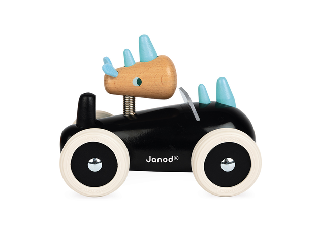 Каталка-машинка для малышей Janod «Рони», фото , изображение 4