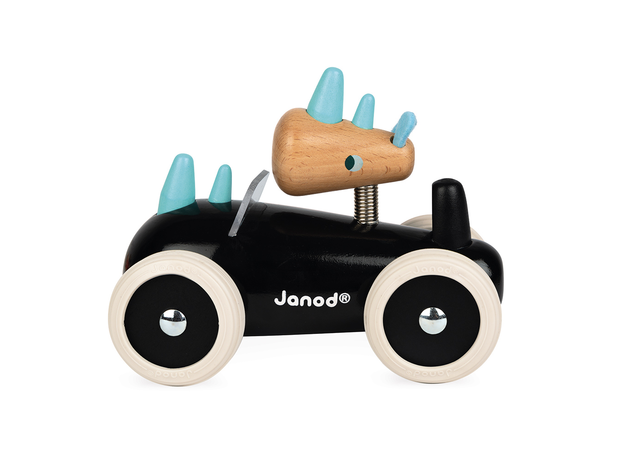 Каталка-машинка для малышей Janod «Рони», фото , изображение 5