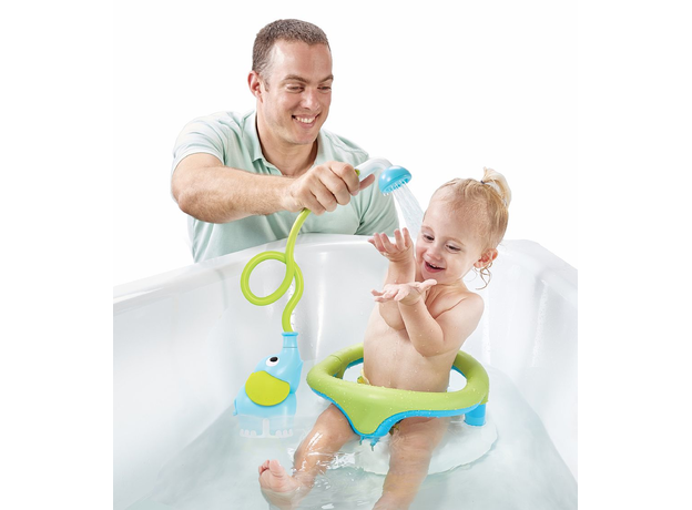 Игрушка для ванны Yookidoo душ «Слоненок»; голубой, фото