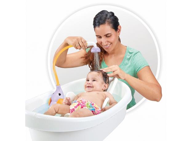 Игрушка для ванны Yookidoo душ «Слоненок»; фиолетовый, фото , изображение 4