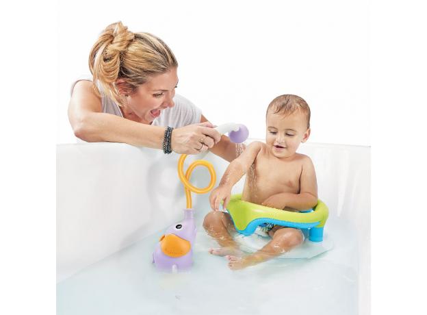 Игрушка для ванны Yookidoo душ «Слоненок»; фиолетовый, фото , изображение 5
