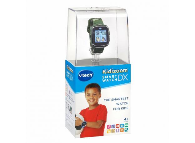 VTECH Детские наручные часы Kidizoom SmartWatch DX  камуфляжного цвета 80-171673, фото , изображение 2