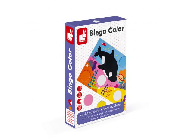 Игра настольная лото Janod «Бинго», фото , изображение 7