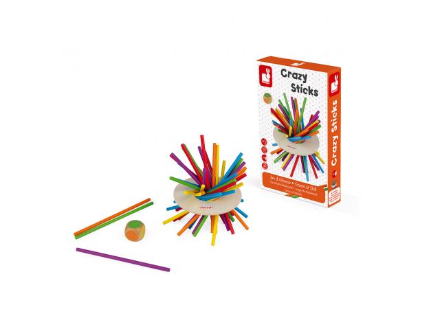 Игра настольная Janod микадо «Цветные палочки», фото , изображение 2