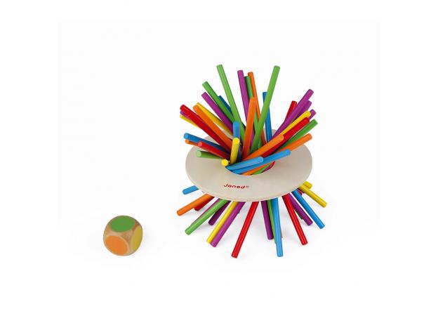 Игра настольная Janod микадо «Цветные палочки», фото , изображение 3