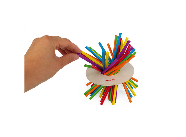Игра настольная Janod микадо «Цветные палочки», фото , изображение 5