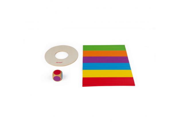 Игра настольная Janod микадо «Цветные палочки», фото , изображение 7