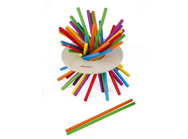 Игра настольная Janod микадо «Цветные палочки», фото , изображение 8