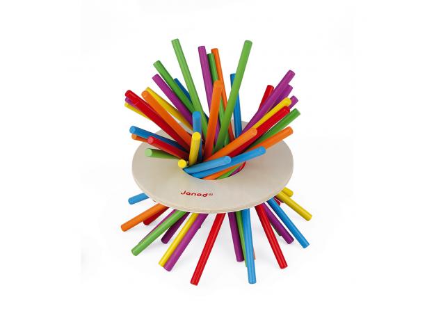 Игра настольная Janod микадо «Цветные палочки», фото , изображение 9