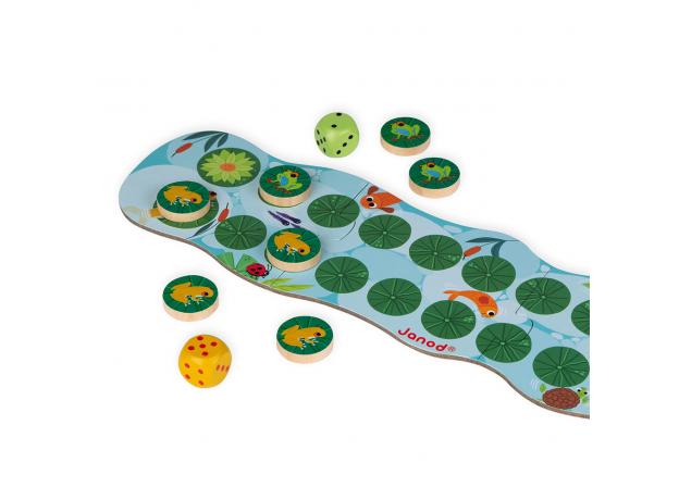 Игра настольная Janod «Лягушачьи бега», фото , изображение 3