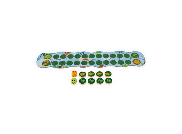 Игра настольная Janod «Лягушачьи бега», фото , изображение 5