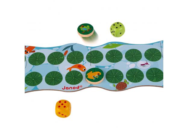 Игра настольная Janod «Лягушачьи бега», фото , изображение 6