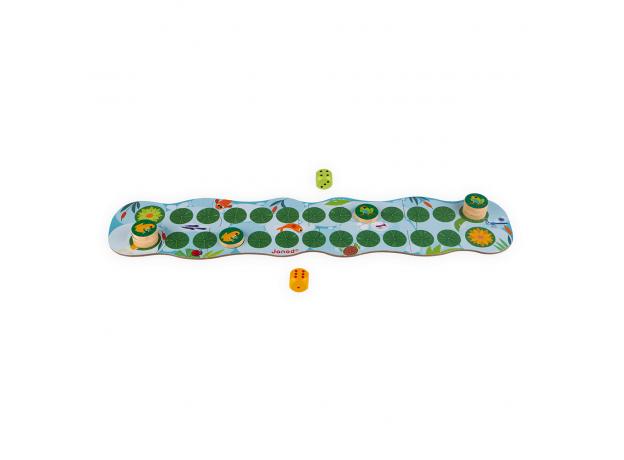 Игра настольная Janod «Лягушачьи бега», фото