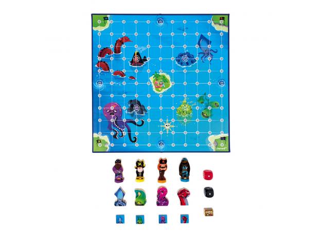 Игра настольная Janod «Пиратские сокровища», фото , изображение 5