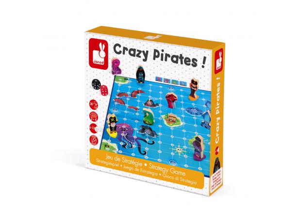 Игра настольная Janod «Пиратские сокровища», фото , изображение 6