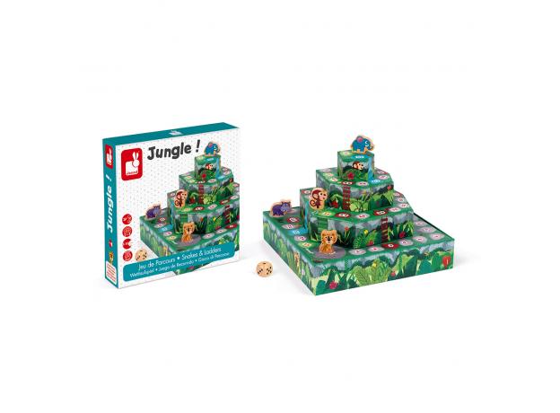 Игра настольная Janod «Гонки по джунглям», фото , изображение 2