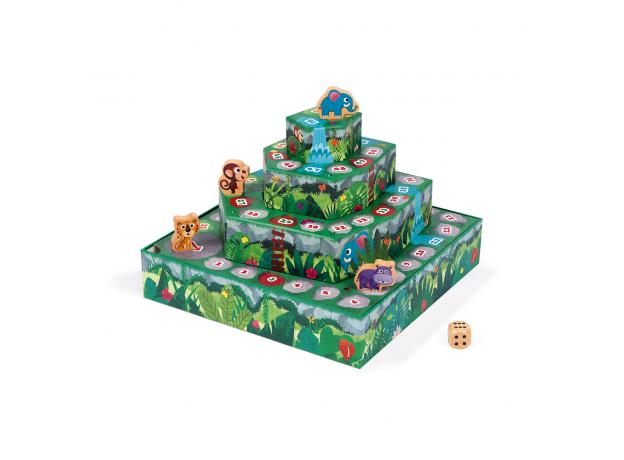 Игра настольная Janod «Гонки по джунглям», фото , изображение 3