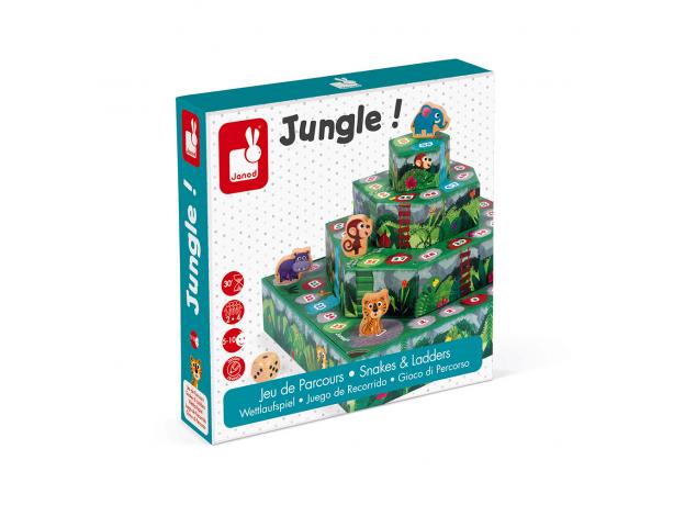 Игра настольная Janod «Гонки по джунглям», фото , изображение 6
