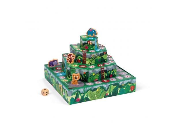 Игра настольная Janod «Гонки по джунглям», фото