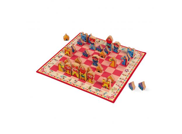 Настольная игра Janod шахматы «Луна-парк», фото