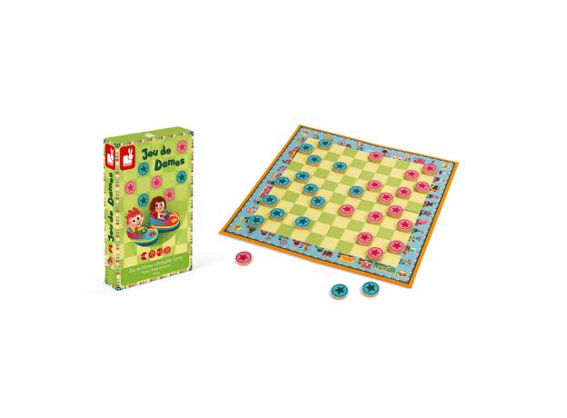 Игра настольная Janod шашки «Цирк Шапито», фото , изображение 2