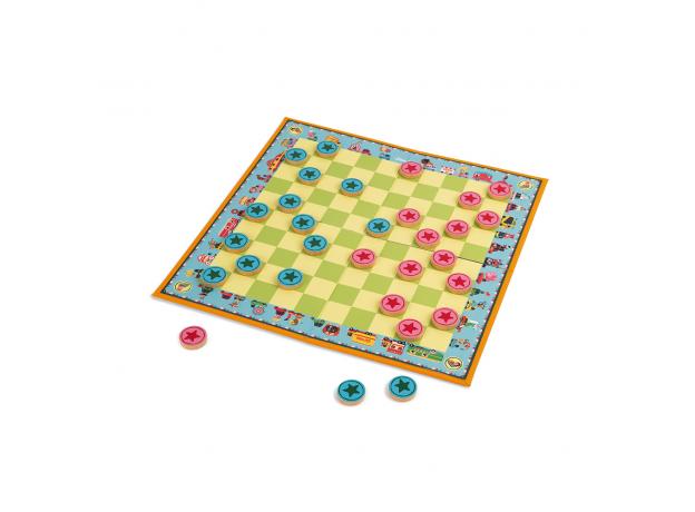 Игра настольная Janod шашки «Цирк Шапито», фото , изображение 3