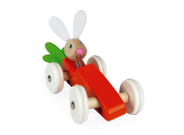 Каталка-машинка для малышей Janod «Кролик», фото , изображение 4