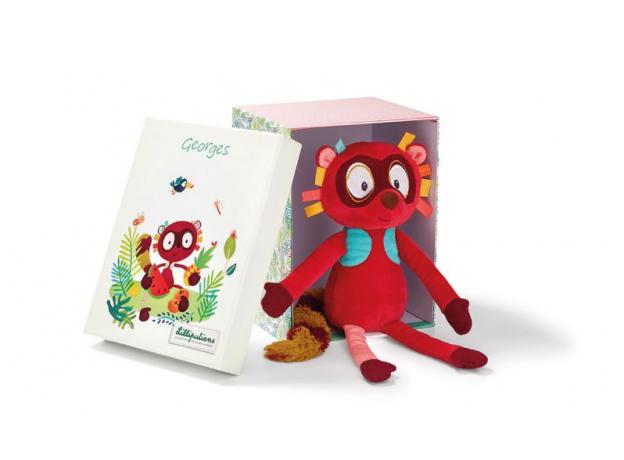 Игрушка Lilliputiens «Лемур Джордж»; подарочная упаковка, фото