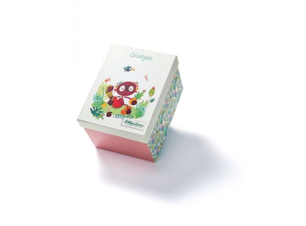 Игрушка Lilliputiens «Лемур Джордж»; подарочная упаковка, фото , изображение 2