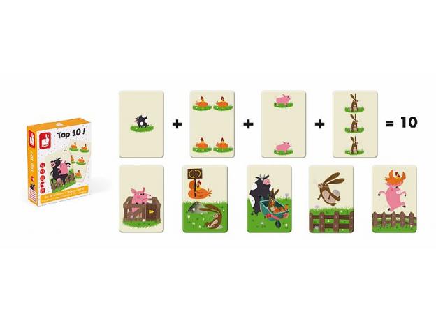 Игра настольная Janod «Десятка!», фото , изображение 3