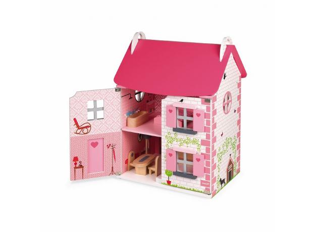 Домик кукольный Janod с мебелью «Мадемуазель», фото , изображение 5