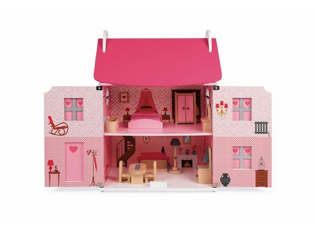 Домик кукольный Janod с мебелью «Мадемуазель», фото , изображение 6