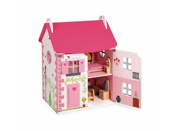 Домик кукольный Janod с мебелью «Мадемуазель», фото