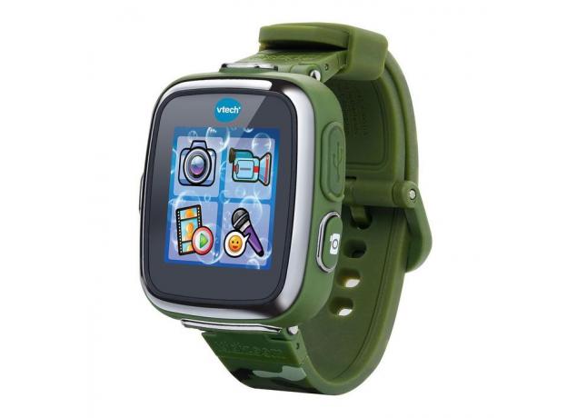 VTECH Детские наручные часы Kidizoom SmartWatch DX  камуфляжного цвета 80-171673, фото
