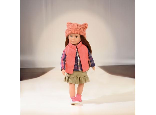 Комплект одежды для куклы Lori с дутой жилеткой, фото