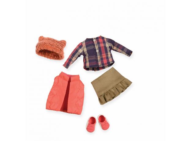 Комплект одежды для куклы Lori с дутой жилеткой, фото , изображение 3