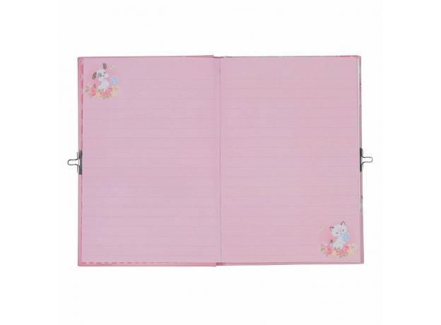 Личный дневник с замочком Tiger Tribe «Котята и Щеночки», фото , изображение 2