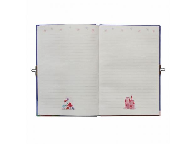 Личный дневник с замочком Tiger Tribe «Радужный единорог», фото , изображение 2