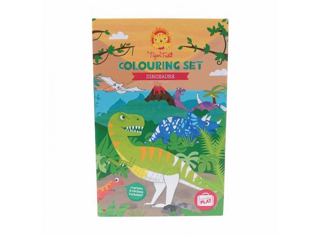 Набор для рисования Tiger Tribe «Динозавры», фото , изображение 3