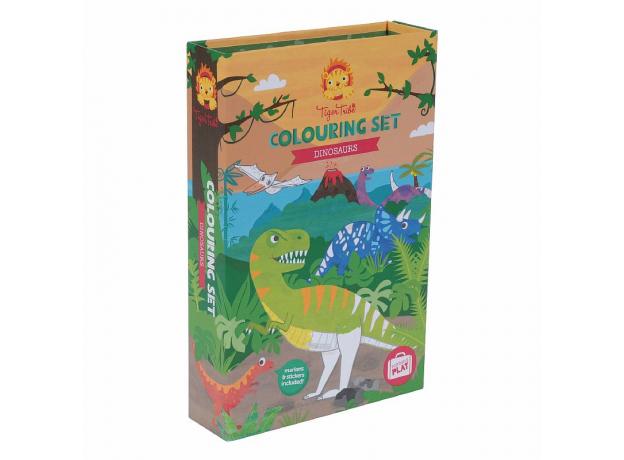 Набор для рисования Tiger Tribe «Динозавры», фото , изображение 4