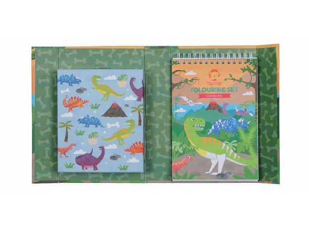 Набор для рисования Tiger Tribe «Динозавры», фото , изображение 6