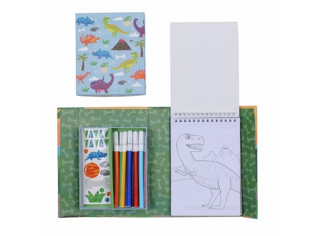 Набор для рисования Tiger Tribe «Динозавры», фото