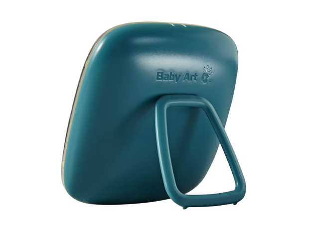 Коробочка для создания отпечатка Baby Art «Hello Baby» бирюзовая, фото , изображение 2