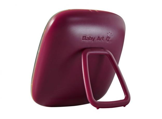 Коробочка для отпечатка «Hello Baby» бордовая Baby Art, фото , изображение 2