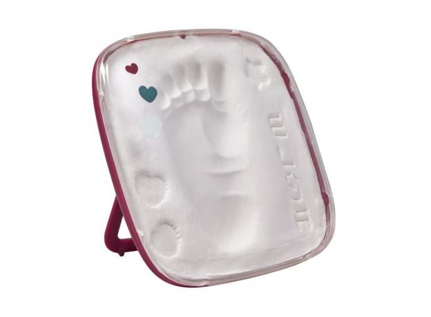 Коробочка для отпечатка «Hello Baby» бордовая Baby Art, фото , изображение 6