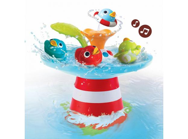 Игрушка для ванны Yookidoo фонтан «Утиные гонки», музыкальная, фото , изображение 2