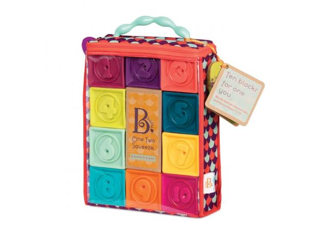 Кубики мягкие B.Toys (Battat), фото , изображение 2