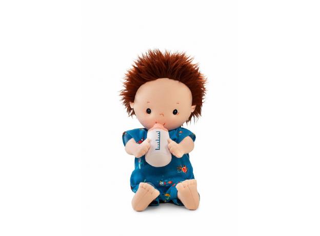 Мягкая кукла с бутылочкой Lilliputiens «Ноа», фото , изображение 2