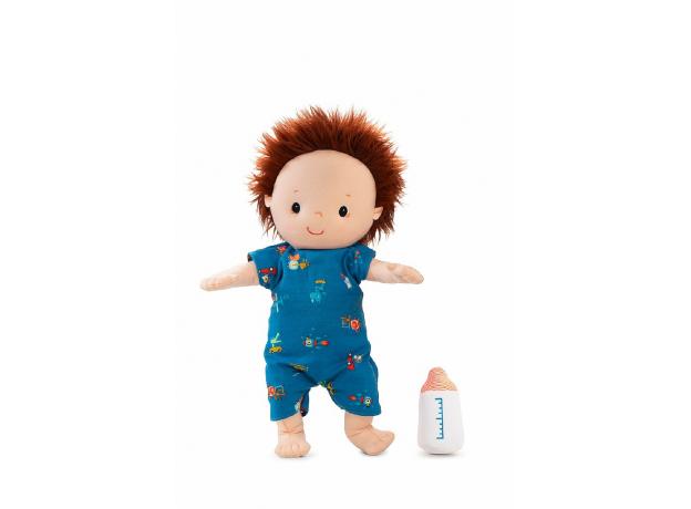 Мягкая кукла с бутылочкой Lilliputiens «Ноа», фото , изображение 3